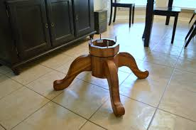 Turned Pedestal Bistro Table Diy Pedestal Coffee Table Domestically Speaking