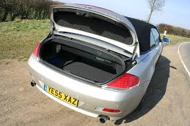 bmw 6 series convertible 2004 2010 features equipment and