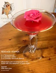 pink lady cocktail contratto