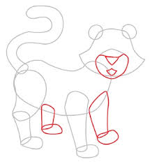 3 draw legs and snout how to draw a tiger howstuffworks