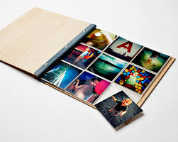 4x4 photo album instagram photo album wood wedding album engagement gift wood