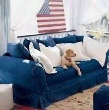 Slipcover Furniture Living Room Denim Living Room Furniture Foter