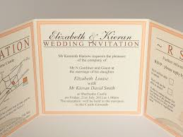 Folded Wedding Invitations Tri Fold Wedding Invitations Custom Tri Fold Wedding Invitations