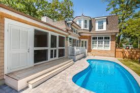 elegant custom built cedar shake cottage shoreline construction