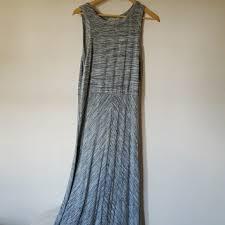 80 off joan vass dresses u0026 skirts mixed gray black maxi dress