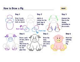 how to draw a pig wkn webkinz newz
