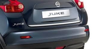 nissan juke chrome rear tailgate trim finisher genuine ke7911ka20