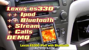 lexus gs330 lexus es300 es330 es350 ipod u0026 bluetooth 2002 2007 by grom audio