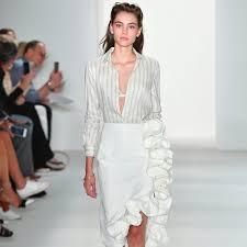 ruffle skirt trend spring 2017 popsugar fashion