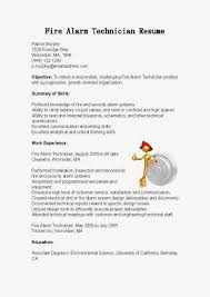 X Ray Tech Resume Sample by Fire Alarm Installer Cover Letter