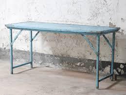 blue u0026nbsp vintage folding table vintage tables u0026amp desks
