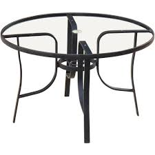 Glass Top Round Dining Tables by 48 Inch Round Patio Dining Table With Glass Top By Lakeview