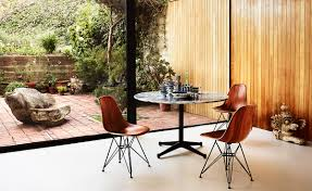 eames wire side table eames molded wood side chair with wire base hivemodern com