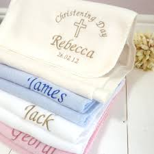 baptism blanket personalized personalised baby blanket with teddy design