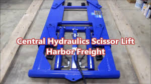 scissor lift table harbor freight central hydraulics scissor lift harbor freight full throttle