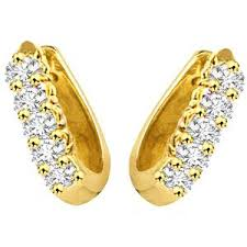 s gold earrings surat diamond gold diamond earrings s 298 gold earrings