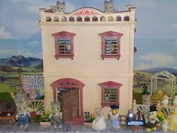 the pink corner house sylvanian families