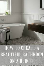 Modern Bathroom Ideas On A Budget by Best 25 Budget Bathroom Ideas Only On Pinterest Small Bathroom