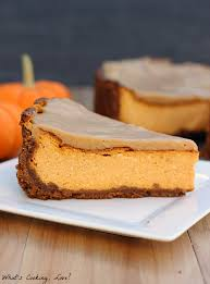 biscoff pumpkin cheesecake whats cooking