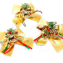 Christmas Tree Decorations Gold Bows by Gold Christmas Bows Promotion Shop For Promotional Gold Christmas
