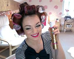 how to put rollersin extra short hair how to use velcro rollers the longer you leave them in the