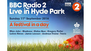 elton set to perform at radio 2 live in hyde park