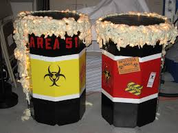 halloween how to make props toxic waste barrels 6 steps