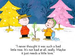 charlie brown christmas tree quote daily quotes of the life