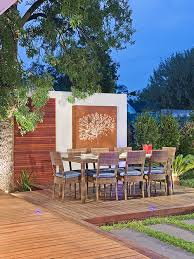 outdoor wall art houzz