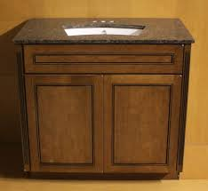 Kraftmaid Bathroom Vanity Kraftmaid Chocolate Cherry Bathroom Vanity Sink Cabinet 36
