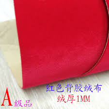 self adhesive velvet usd 6 65 base fabric with self adhesive velvet plus thick