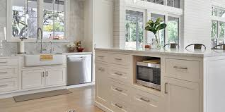 microwave in island in kitchen kitchen tips microwave placement select kitchens melbourne