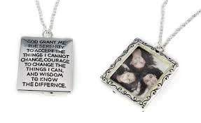 serenity prayer picture frame christian necklaces page 4 the witness