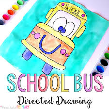 back to bus directed drawing proud to be primary
