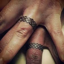 wedding ring tattoos for best 25 wedding ring tattoos ideas on