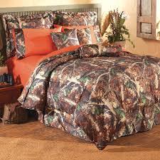 Orange Camo Bed Set Oak Camo Bed Sets