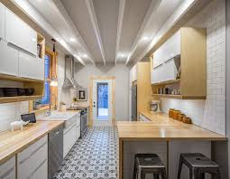 Small Galley Kitchen Designs Amazing Small Galley Kitchen Designs With Tiny House Trailer Black