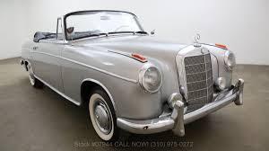 1959 mercedes benz 220s cabriolet beverly hills car club