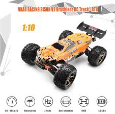 vkar racing bison v2 brushless rc truck rtr hobbywing mxa10