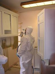 spraying kitchen cabinets phelps kitchen cabinet refinishing