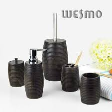 wood bath accessories wesmo