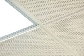metal suspended ceiling composite tile acoustic thermacool