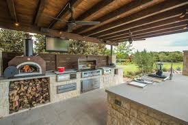 outdoor kitchen ideas with pizza oven variations of outdoor