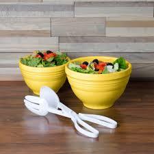 homer laughlin 867320 fiesta sunflower 2 piece prep baking bowl