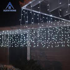 led icicle lights cool white solar 256 cool white led curtain lights with 4 lighting functions