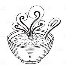 soup sketch illustration illustration soup food lunch carrot