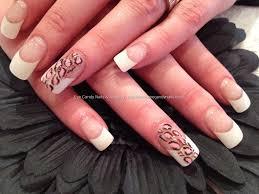 nail art french tips nail designs false art and tricks for water