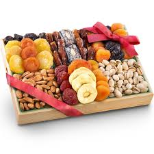 fruit and nut gift baskets golden state fruit pacific coast deluxe dried fruit
