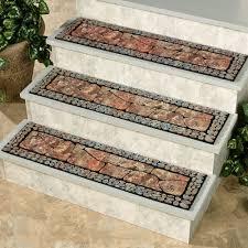 outdoor non slip stair treads mat stylish outdoor stair treads