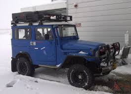 toyota land rover 1980 diesel right hand drive toyota land cruiser expedition rig winch bj41